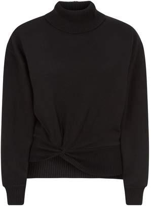 Alexander Wang Twist Turtleneck Sweater