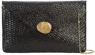 Kayu chain strap envelope clutch bag