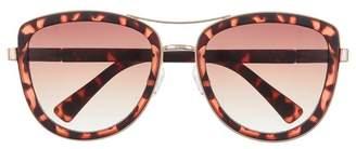 Vince Camuto Metallic-detail Sunglasses