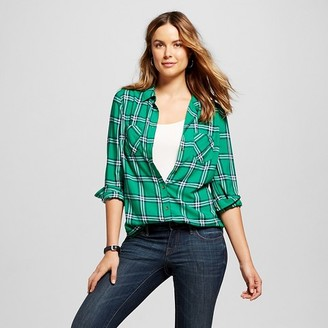 Women's Plaid Favorite Shirt - Merona $22.99 thestylecure.com