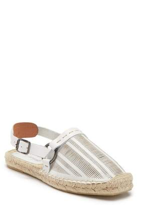 Free People Cabo Perforated Leather Espadrille Flat