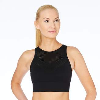 Spalding Seamless High Neck Medium-Impact Sports Bra 7943-00