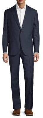 Jack Victor Plaid Wool Suit