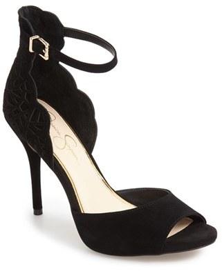 Women's Jessica Simpson Bellona Ankle Strap Sandal $109.95 thestylecure.com