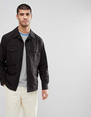 Paul Smith Four Pocket Overshirt Jacket In Black
