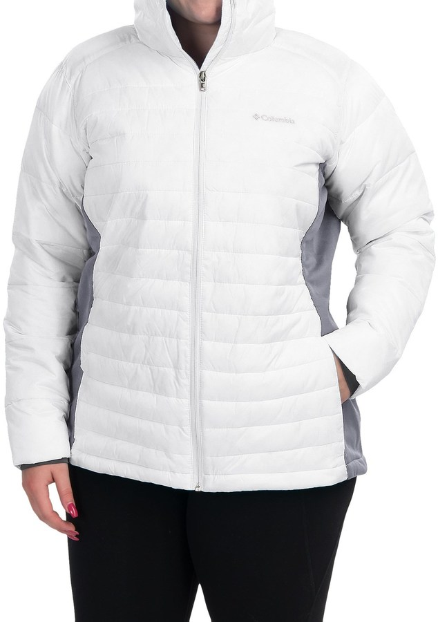 Columbia Columbia Sportswear Powder Pillow Hybrid Jacket - Insulated (For Plus Size Women)
