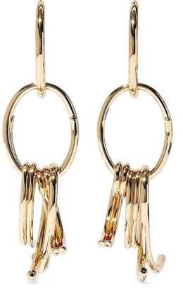 Dannijo Sul Gold-Plated Earrings