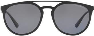 Emporio Armani Ea4103 56 Green Square Sunglasses