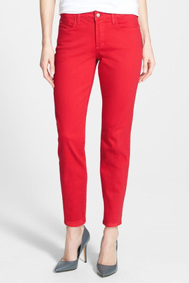 NYDJ Clarissa Colored Stretch Skinny Ankle Jean (Petite) $110 thestylecure.com