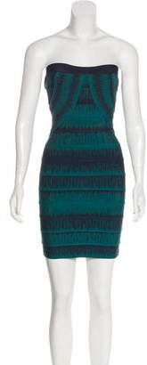 Herve Leger Lesly Bandage Dress w/ Tags