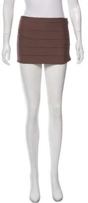 Haute Hippie Bandage Mini Skirt w/ Tags