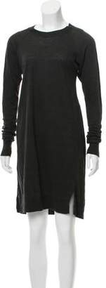 Isabel Marant Long Sleeve Linen Dress
