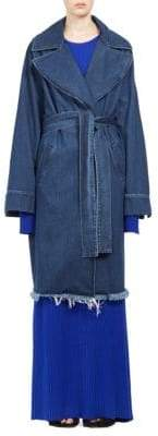 Marques Almeida Marques'Almeida Long Denim Peacoat