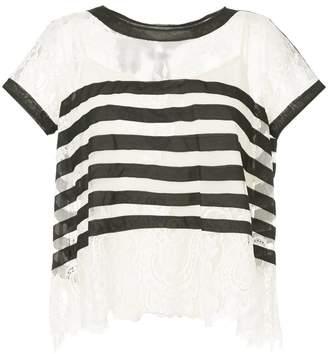 Edward Achour Paris striped T-shirt