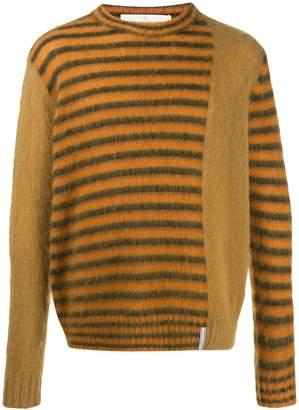 Golden Goose striped panel jumper