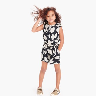 Girls' drapey floral romper $78 thestylecure.com