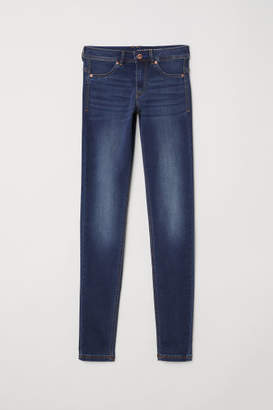 H&M Super Soft Low Jeggings - Blue