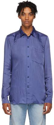 Acne Studios Bla Konst Indigo Road L Visc Shirt
