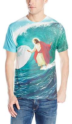 Goodie Two Sleeves Men's Surfs Up Jesus T-Shirt