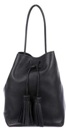 Tom Ford Leather Tassel Bucket Bag