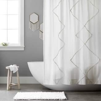 Pottery Barn Teen Ashlyn Shower Curtain, Ivory