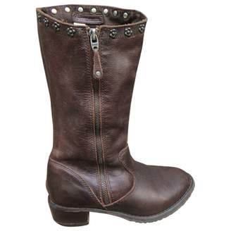 Diesel Leather Boots