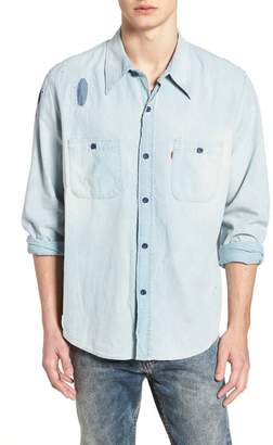 Levi's CLOTHING Vintage Clothing 1960s Chambray Worker Shirt
