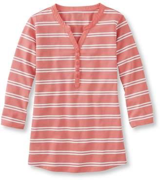 L.L. Bean L.L.Bean Women's Summer Pullover, Henley