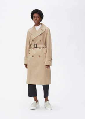 Maison Margiela Tie Waist Trench Coat