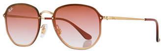 Ray-Ban Square Gradient Metal Sunglasses