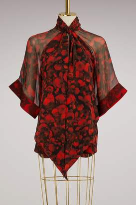 Givenchy Lavalliere collar shirt