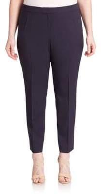 Lafayette 148 New York Lafayette 148 New York, Plus Size Plus Stretch Cotton Trousers