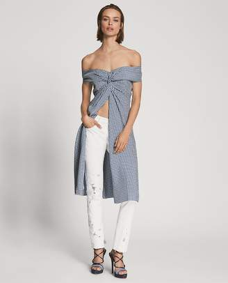 Ralph Lauren 444 Sequined-Lace Skinny Jean