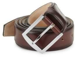 Sutor Mantellassi Carter Roccia Adjustable Leather Belt
