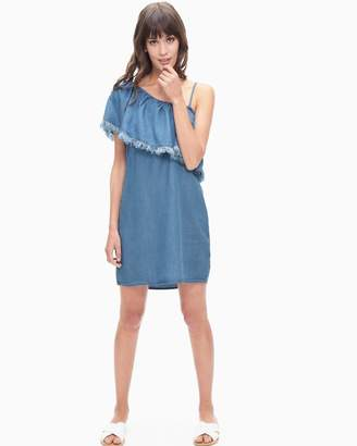 Splendid Indigo One Shoulder Dress