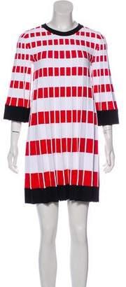 Fendi Pleat Knit Dress