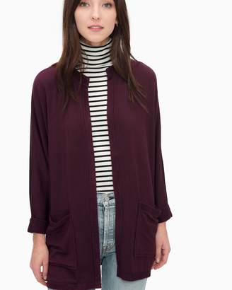 Splendid Super Soft Brushed French Terry Dolman Wedge Cardi