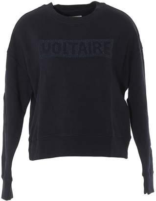 Zadig & Voltaire Crewneck Logo Sweater