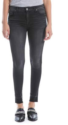 KUT from the Kloth Donna High Waist Ankle Skinny Jeans (Ideal) (Regular & Petite)