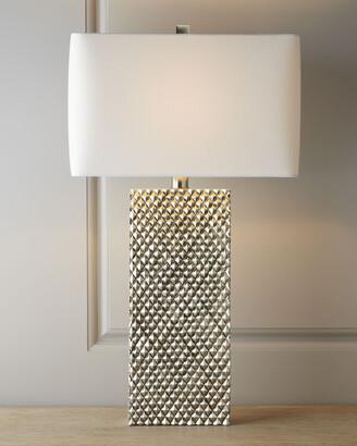 Regina-Andrew Design Regina Andrew Design Platinum Stud Lamp