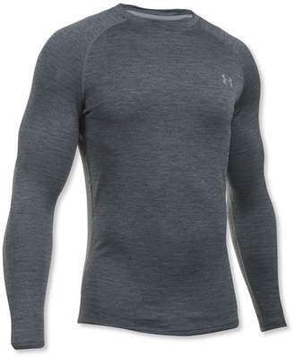 L.L. Bean L.L.Bean Mens Under Armour ColdGear Base 3.0, Long-Sleeve Crew