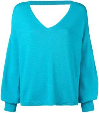 Blugirl long-sleeve flared sweater