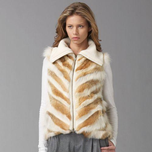 Adam Coyote Fur Vest