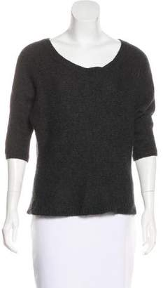 360 Cashmere Wool-Blend Knit Sweater
