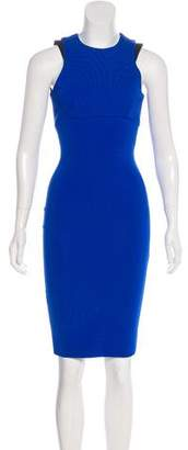 Victoria Beckham Sleeveless Knee-Length Dress