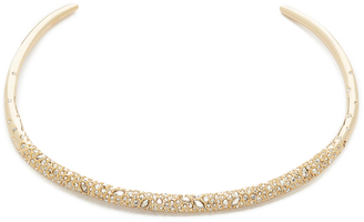Alexis Bittar Crystal Encrusted Thin Collar Necklace $325 thestylecure.com