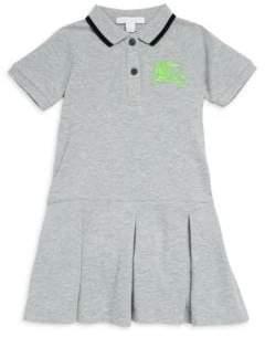 Burberry Little Girl's& Girl's Mollyanna Cotton Polo Dress