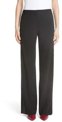 Equipment Tuxedo Stripe Wide Leg Trousers
