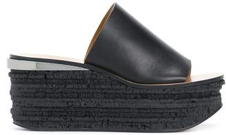 Chloé high platform sandals