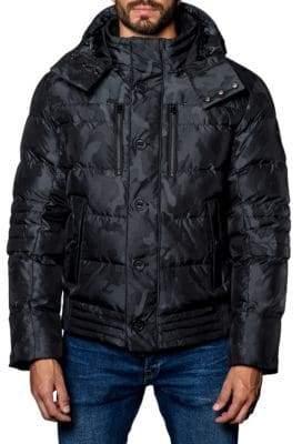 Jared Lang Alaska Camo Puffer Jacket